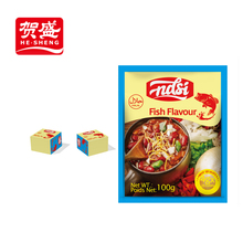 NASI 4g/cube for soup African cook fish bouillon cube