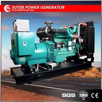 Blue / Red / White 0.8 Power factor Open 100KW 125KVA Diesel Generator