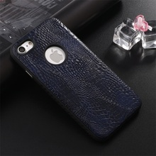 China phone case manufacturer genuine leather for iphone 7 case