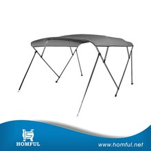 Best quality UV resistant 4 bow bimini top for boat