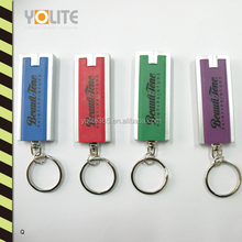 Promotional LED Keychain/LED Flashlight Key Chain/LED Keylight