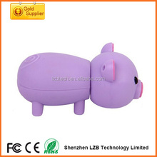 Hot selling promotion gifts Cute Pig Cartoon usb flash , USB pig drives , pig USB disk