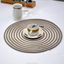 Hot food heat protection silicone esd pvc under dining table mat