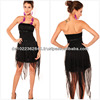 Sexy chest wrapped paragraph sequin chiffon dress foreign club clothing NEW&HOT