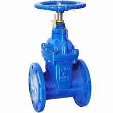 Cast Iron Long Rising Stem Resilient Seated Rubber Soft Seal Flange Gate Valve