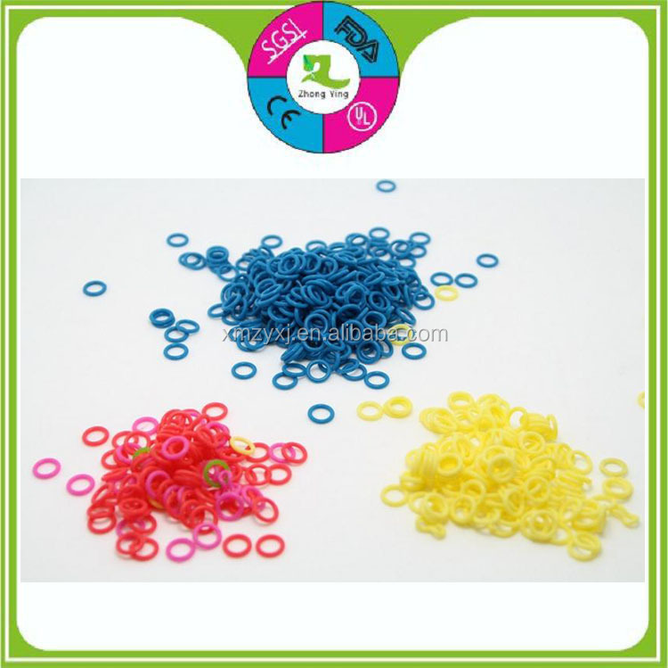 molded custom different color NBR viton silicone small round O RINGS