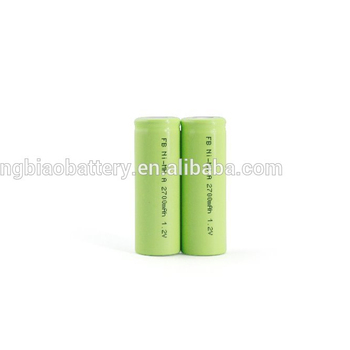 NIMH Rechargeable A 2700mah 1.2V battery from pro manufacturer