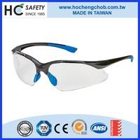 P9006C impact resistant UV400 safety eye glasses ANSI Z87.1
