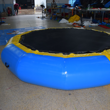 cheap inflatable water trampoline/ water toys for the lake / inflatable water games