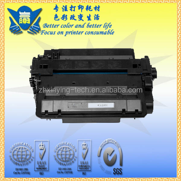 New printer supplies for HP CE255X toner cartridge