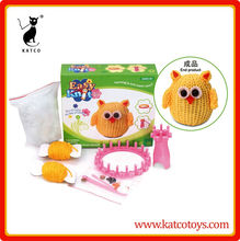 DIY knitting tool girl toy weaving loom