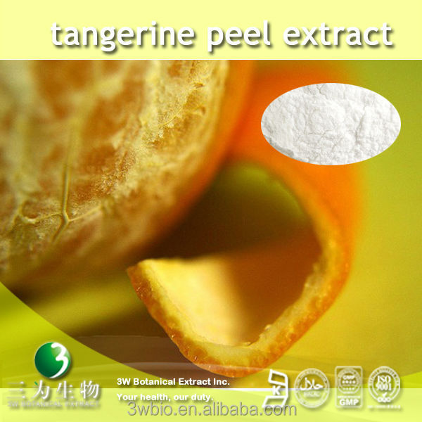 High quality natural 20% 30% nobiletin from tangerine peel extract from GMP manufacturer