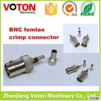 BNC Female to RCA Male Coax Connector Adapter Plug Cable CCTV RG6 Camera rf adapter