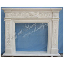 Italian Stone Fireplaces Mantel,Mantels Shelves,Modern Freestanding Fireplace