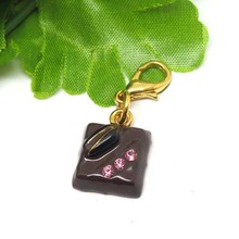 Chocolate Shaped Pendant Key Chain Small Toy Pendant Charm