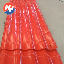 0.2mm thickness corrugated steel sheet metal roofing for sale