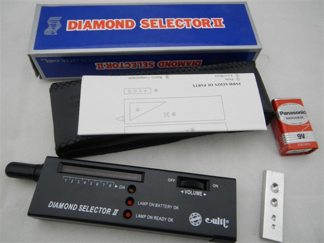 free shipping!!! 1pc, Gemstone Gems diamond tester II ,diamond selector, diamond detector,gemstone picker