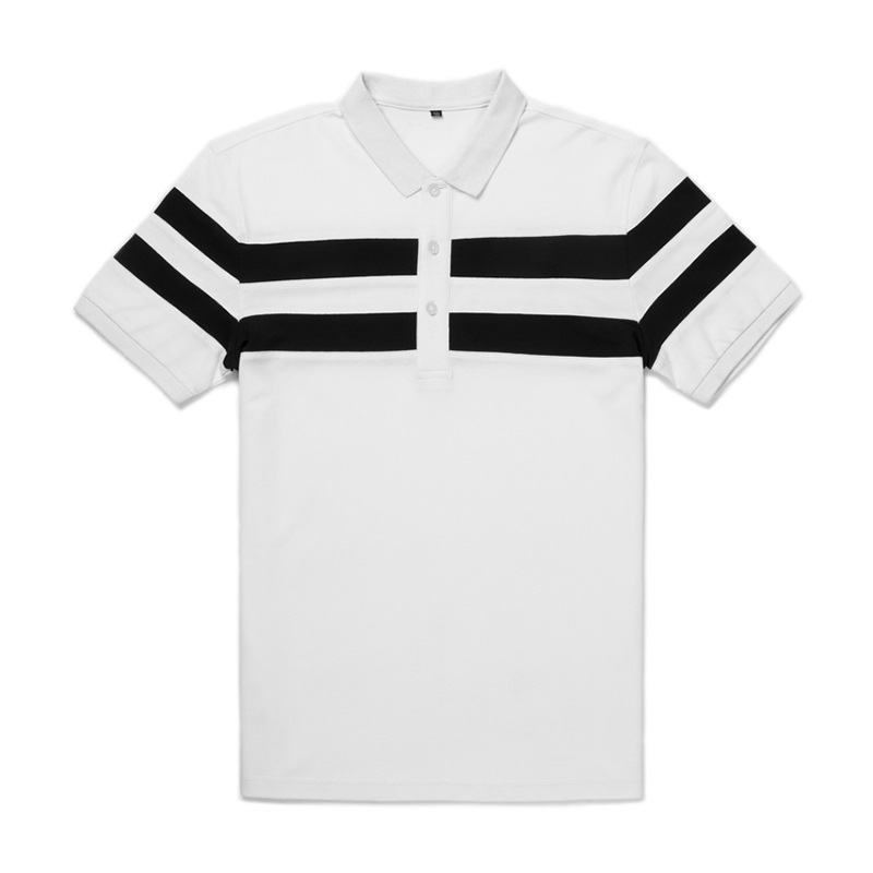 high quality men short sleeve custom polo shirt manufactured in China