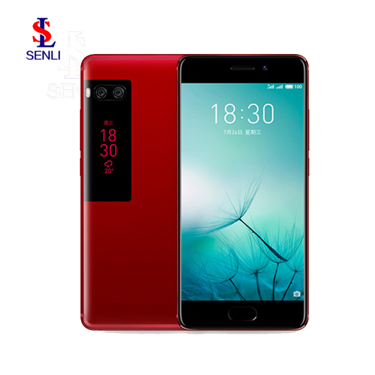 Original Meizu Pro 7 128GB Helio X30 Deca Core SmartPhone Android 7.0 Touch ID 3000mAh Mobile Phone