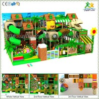 Forest theme free design CE & GS standard eco-friendly LLDPE kids qapali oyun
