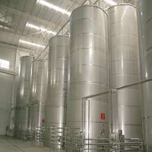 stainless steel 304 cooking oil storage tank with dimple jacket