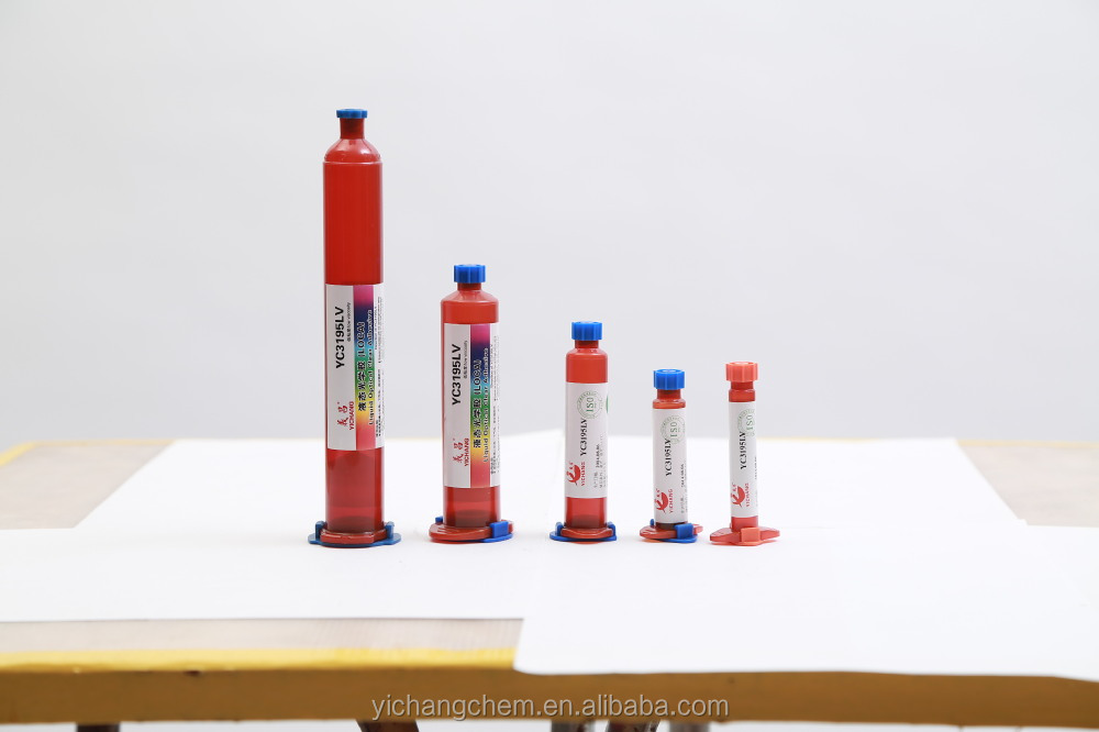YC3195LV premium uv loca glue adhesive for iphone 4 4g 4s 5 with high quality