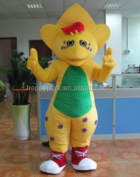 BJ mascot costume barney and friends costumes