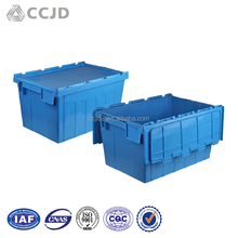 Bulk Sell Custom Logo Reusable Stackable Plastic Moving Storage Boxes