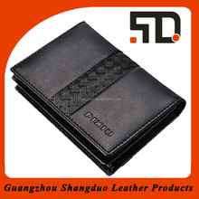 Janpanese Popular Quality Leather Novelty Business Card Holders