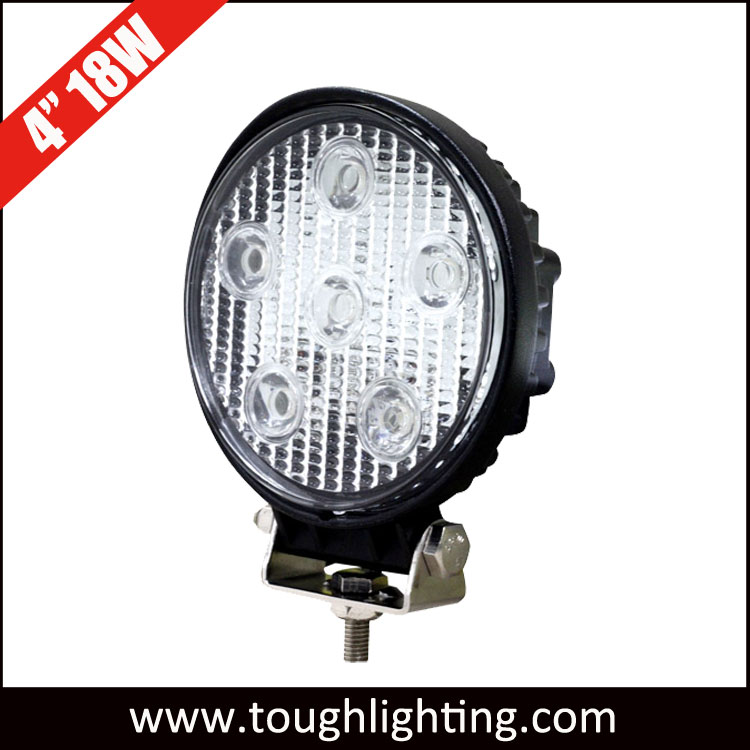 Toughlighting Round 18W 1200lumen LED Worklights