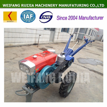 Good price factory supply 15hp CHANGCHAI engine walking tractor for sale; New made four wheels 15hp mini tractor for farming !
