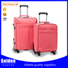two pcs fashion design PU suitcase sets young girls and boys travelling luggage bag