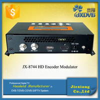 High Standard Low Cost IP QAM Digital MPEG4 HD Encoder Modulator