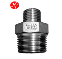 SS304 316 Stainless Steel Hexagon Reducing Coupling Nipple M-M Price List