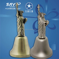 New York Statue of Liberty metal souvenir dinner bell