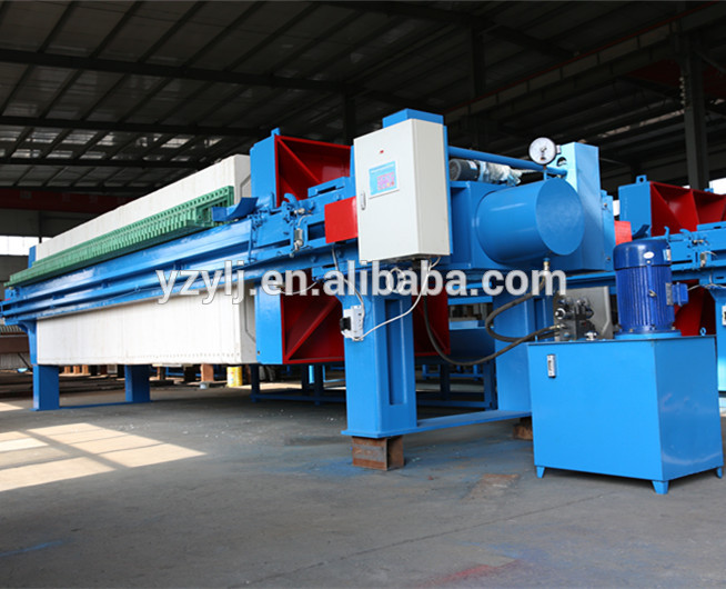 Factory wholesale High quality! hydraulic chamber filter press equipment for oil industry