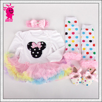 Baby Girls Halloween Costumes Romper Dress + Headband + Shoes Clothing Sets Party Clothes Cartoon Free Ship