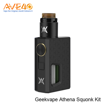 New Products 2017 Squonk Box Mod Express Ali Geekvape Athena Squonk Kit With 6.5ml Squonk BF RDA