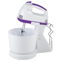 7 Speeds Electric Hand Mixer With Plasti Bowl