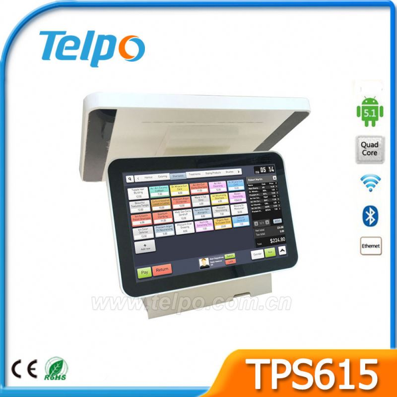 Clothes shop credit fiscal system pos machines For Business