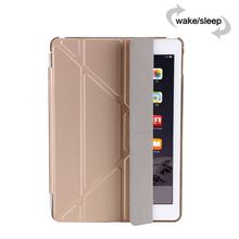 Factory Outlet western cowboy leather case for the new ipad