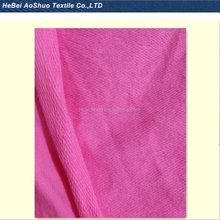 100% cotton different types of fabrics terry fabric for sportswear