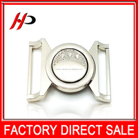Best sell wholesale cheap custom silver or gold plated metal belt buckle