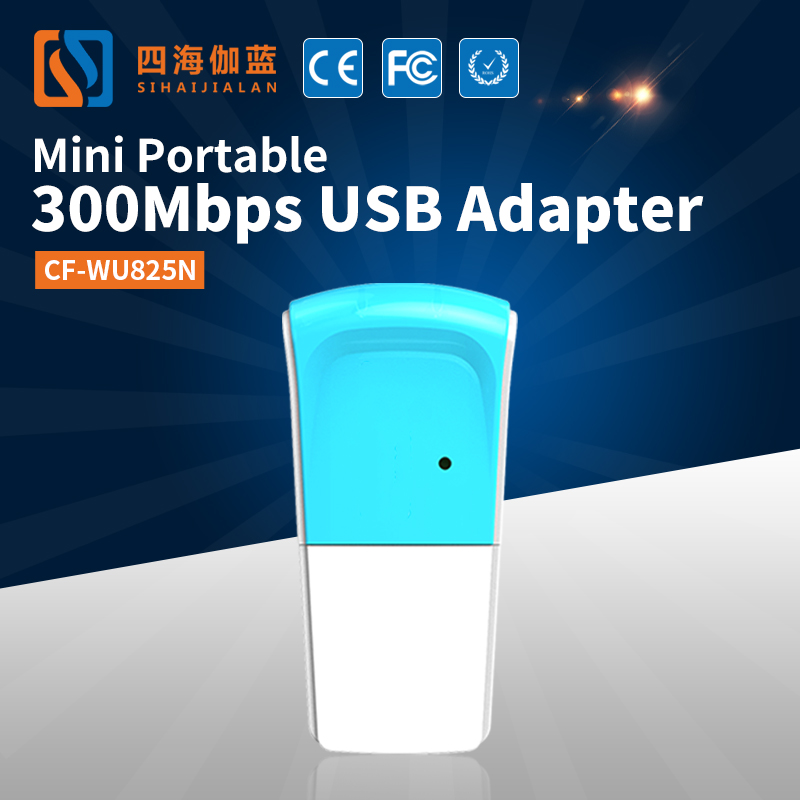 Comfast CF-WU825N Wireless Network Adapter Functions OEM&ODM 300Mbps Realtek Wireless Usb Dongle