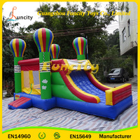 Top Commercial Cheap Inflatable Combo Bouncer Jumping Castle Inflatable Bouncy Castle with Slide