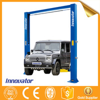Automatic clear floor cheap 2 post car lift IT8234E