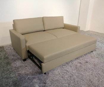 Best sale simple style leather sofa bed XYN5379