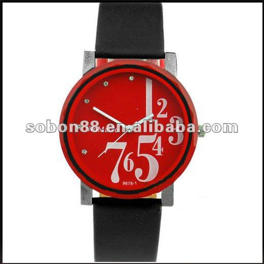 hot sale popular silicone wrist waterproof watch