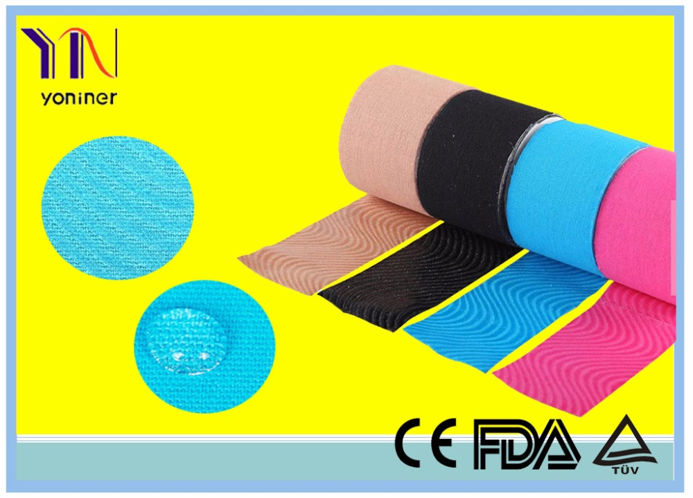 Hangzhou Yoniner YN-MT good material sports tape 100% cotton fabric