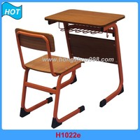 high quality plywood children's school desks and chairs